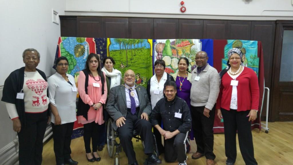 Volunteers & Mayor of Merton